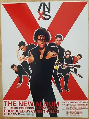 INXS Magazine Print Ad For UK TOUR App 22x30cm MICHAEL HUTCHENCE  • 2.49£