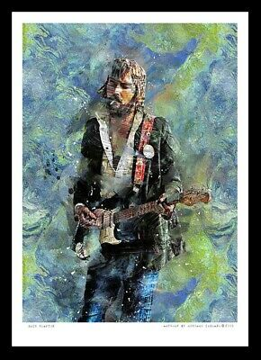Eric Clapton - Yardbirds / Cream - A3 Fine Art Print • 13£