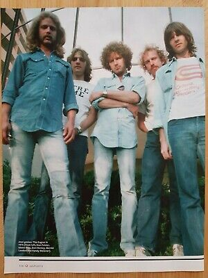 THE EAGLES Magazine Picture Cutting Poster App 22x28cm  • 2.99£