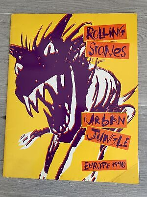 Rolling Stones Urban Jungle 1990 Concert Programme And Flyer  • 5£