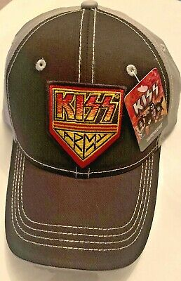 KISS ARMY Embroidered Baseball Cap Hat New With Tags • 14.72£