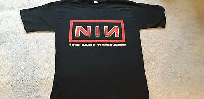 Nine Inch Nails Lost Weekend Short/Sleeve T-shirt Vintage Large Condition • 15£