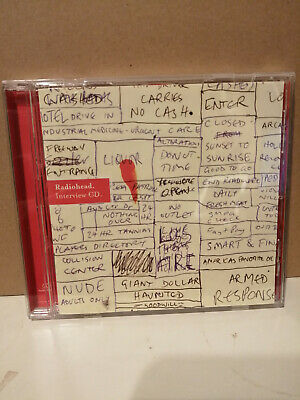 Radiohead 2003 22 Track Interview CD For Hail To The Thief • 4.99£