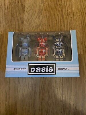 Oasis - Bearbrick – Liam Gallagher – Noel Gallagher – 90s • 110£