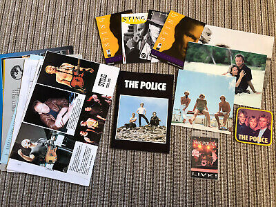 Police Fan Club - Various Newsletters • 5£