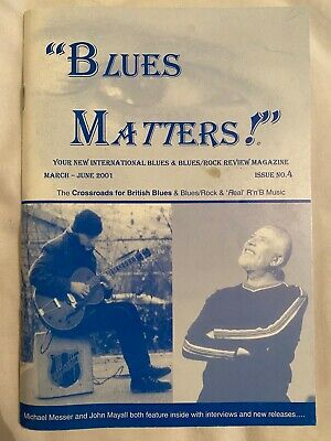 Blues Matters! Magazine - Issue 4:  March-june 2001 • 19.99£