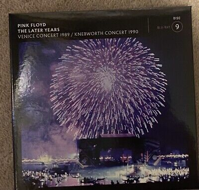 Pink Floyd The Later Years Venice Concert 1989 / Knebworth Bluray  New • 24.99£