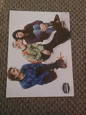 (abc52) Advert/poster 11x8  Waterparks • 11.99£