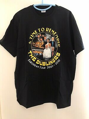 A Time To Remember The Dubliners Tshirt, European Tour 2009-2010, Size Large • 4£