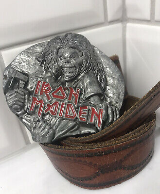 Iron Maiden Belt Buckle 22A16 Eddie Killers LP Album Cover Rock Metal  ILS1 1981 • 19.99£