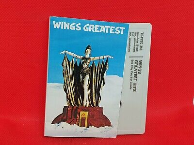Wings - Wings Greatest (1978) Cassette RARE (VG+) • 4.95£
