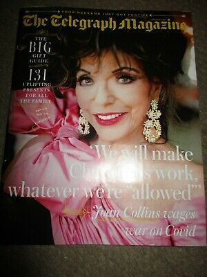 UK Joan Collins The Telegraph Magazine Cover Clippings • 1.99£