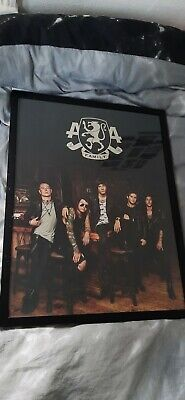 Signed Asking Alexandria Poster • 30£