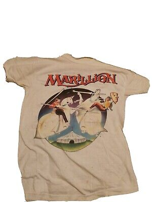 Marillion 1986 Old Concert T SHIRT Medium • 45£