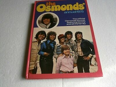 The Osmonds Annual 1975 • 1.50£