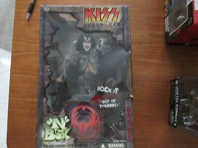 KISS DESTROYER,  N  The BOX ROCK IT  GOD OF THUNDER, The Demon Figure • 140£