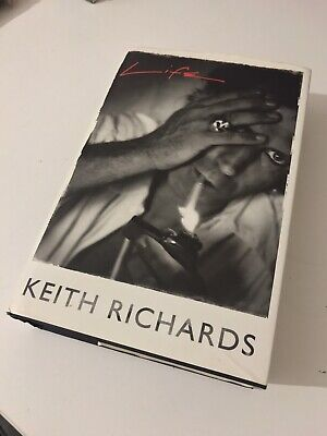 KEITH RICHARDS ROLLING STONES  SIGNED BOOK 2nd Edition - Signed • 550£