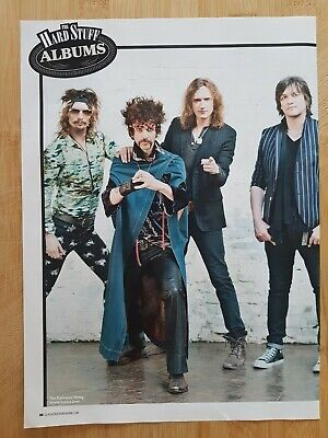 THE DARKNESS Magazine Picture Cutting Poster App 22x30cm REISSUED 2012 • 2.99£