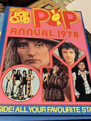 Daily Mirror Vintage Pop Club Annual 1978. • 5£
