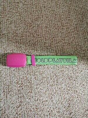 Coldplay Coldplayfilm Tour Wristband • 0.99£