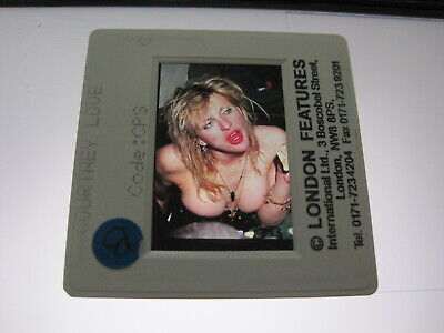 COURTNEY LOVE From HOLE  35mm Promo Press Photo Slide #21116 • 4.99£