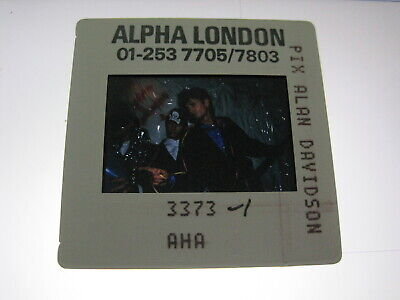 AHA A-HA MORTEN HARKET  35mm Promo Press Photo Slide #20062 • 4.99£