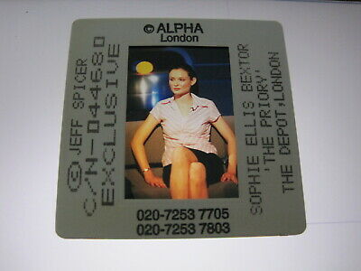 SOPHIE ELLIS BEXTOR  35mm Promo Press Photo Slide #21109 • 4.99£
