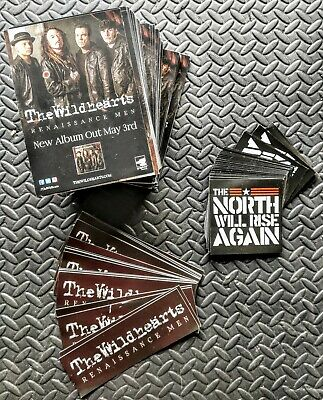 The Wildhearts Promo Stickers, Postcards Etc • 1.04£