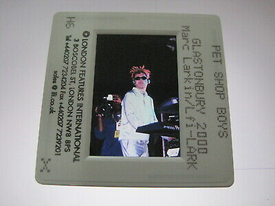 PET SHOP BOYS PSB  35mm Promo Press Photo Slide #10228 • 4.99£