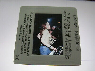 THE DANDY WARHOLS  35mm Promo Press Photo Slide #17370 • 4.99£