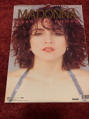 Madonna Official Calendar 1989 By Danilo Promotions • 3.99£