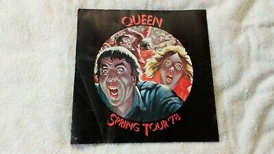 Queen Tour Programme News Of The World Spring Tour 1978 Has Creases Vg- No Rips • 14.99£