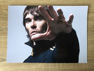 Ian Brown Stone Roses Signed Photo • 10.50£