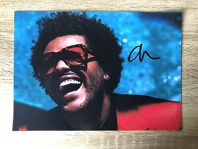 The Weeknd Signed Photo • 5£