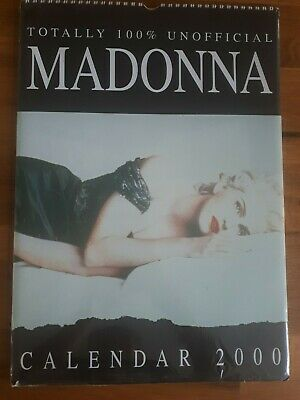 Madonna Calendar 2000 Totally 100% Unofficial Sealed • 3.99£