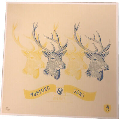 Mumford And Sons Babel Limited Edition Print 106/1500 • 49.99£
