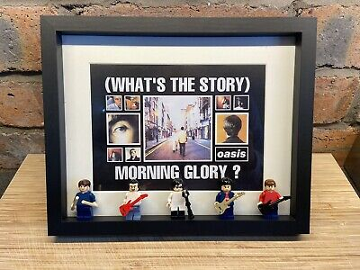 Oasis (What The Story/knebworth) Custom Minifigure Frames • 40£