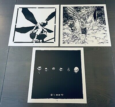 Linkin Park Hybrid Theory Art Print Set | From 20th Anniversary Deluxe Bundle • 14.30£