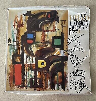 UB40 Genuine Hand Signed 12 Inch Labour Of Love II Vinyl • 79.99£