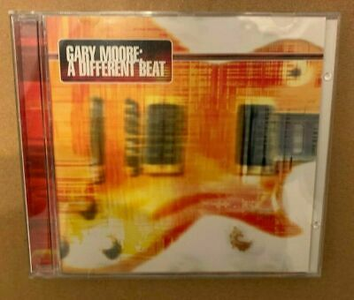 Gary Moore   - A  Different Beat   - Uk  Cd Lp  Signed   -  Thin Lizzy  . • 150£