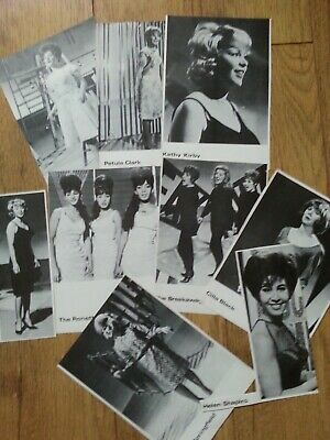 POP & BEAT 60s POP STARS ( 9 Pictures )  Please See Pictures  • 3.50£