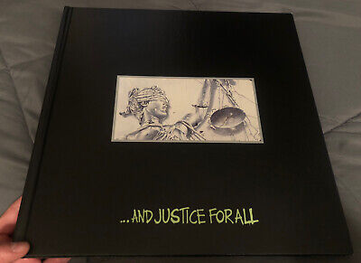 Metallica ... And Justice For All Book Official Licensed • 50.07£