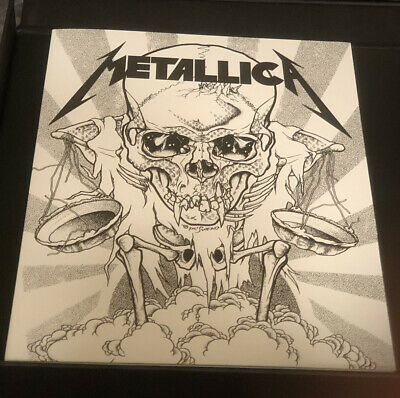 Metallica ... And Justice For All Lyric Folder And Sheets. Official Licensed • 14.31£