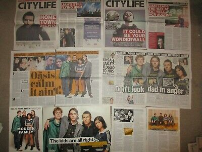 UK Liam Gallagher Clippings Oasis • 1.99£
