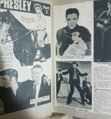 Elvis Presley Scrapbook Jammed Full Of Articles And Pictures • 1.95£
