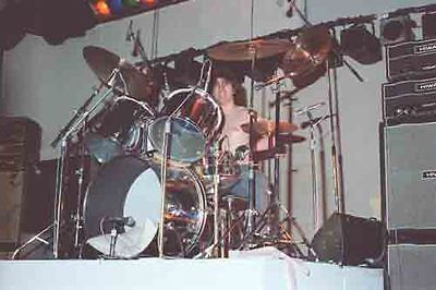 12 *8  Colour Concert Photo - Don Powell Playing With Slade In Birmingham 1978 • 3.99£