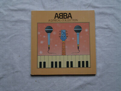 ABBA A Lyrical Collection 1972 - 1982, Published 1982 • 15£