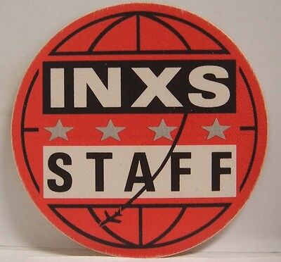 Inxs / Michael Hutchence Original Cloth Concert Tour Backstage Pass **last One** • 10.73£