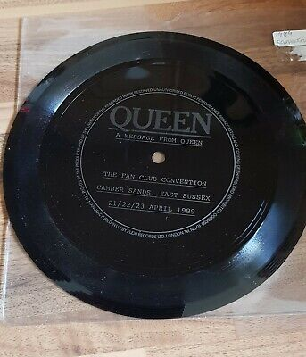 Queen - Special Flexi Disc From 1989 Fan Club Convention • 0.99£