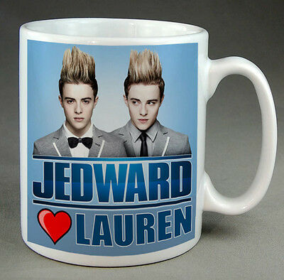 Jedward  Mug - X Factor - Personalised - Your Name, New • 6.99£